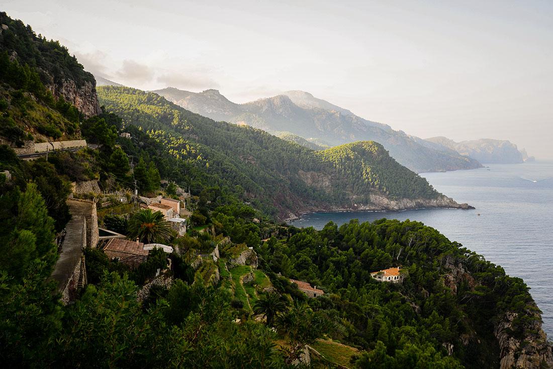 une semaine à Majorque, Panorama depuis la Torre del verger