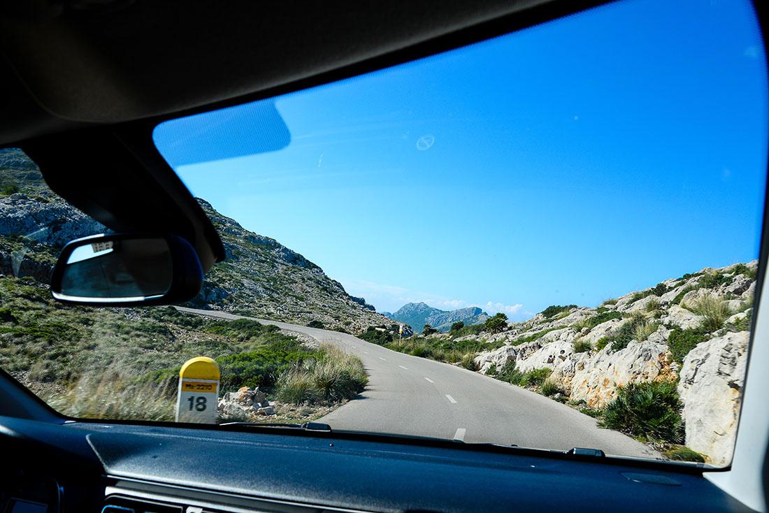 sur les routes de Majorque, Baléares, cap Formentor