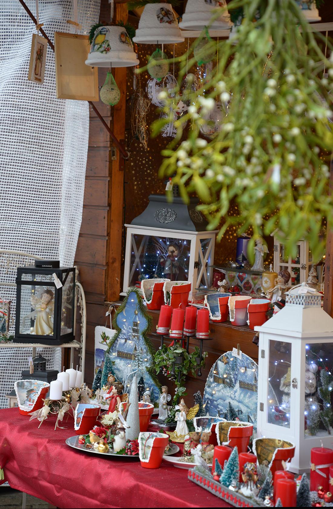 Niederbronn les bains, marché de Noël