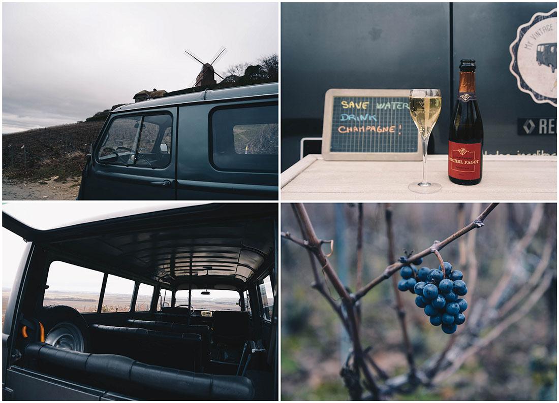 week-end insolite avec insolite travel , tour dans les vignes en estafette avec My Vintage Tour Company