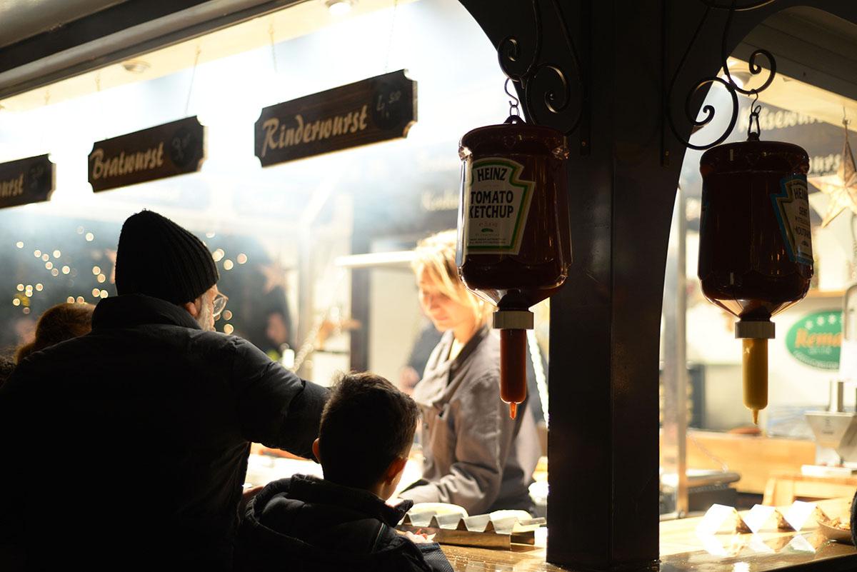 marché des anges place Neukmarkt, marchés de Noël de Cologne