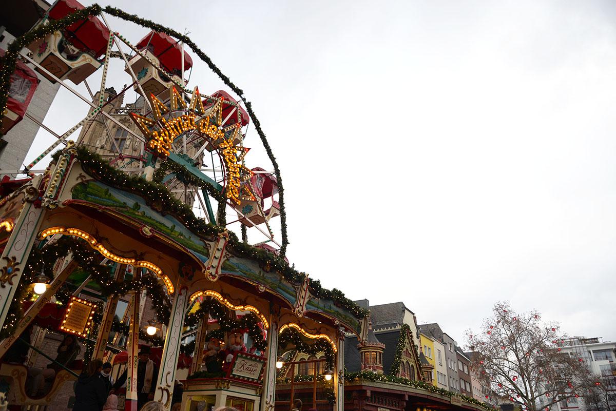 marchés de Noël de Cologne, stands, heumarkt
