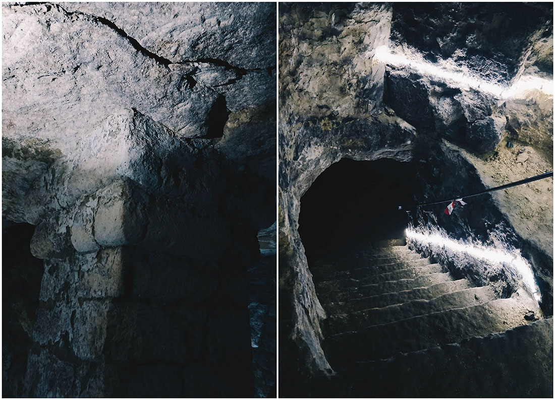 visite insolite de laon, souterrains