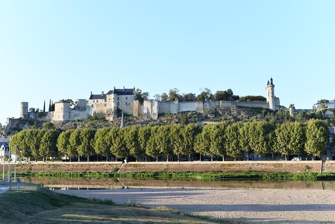 château de chinon, châteaux de la loire