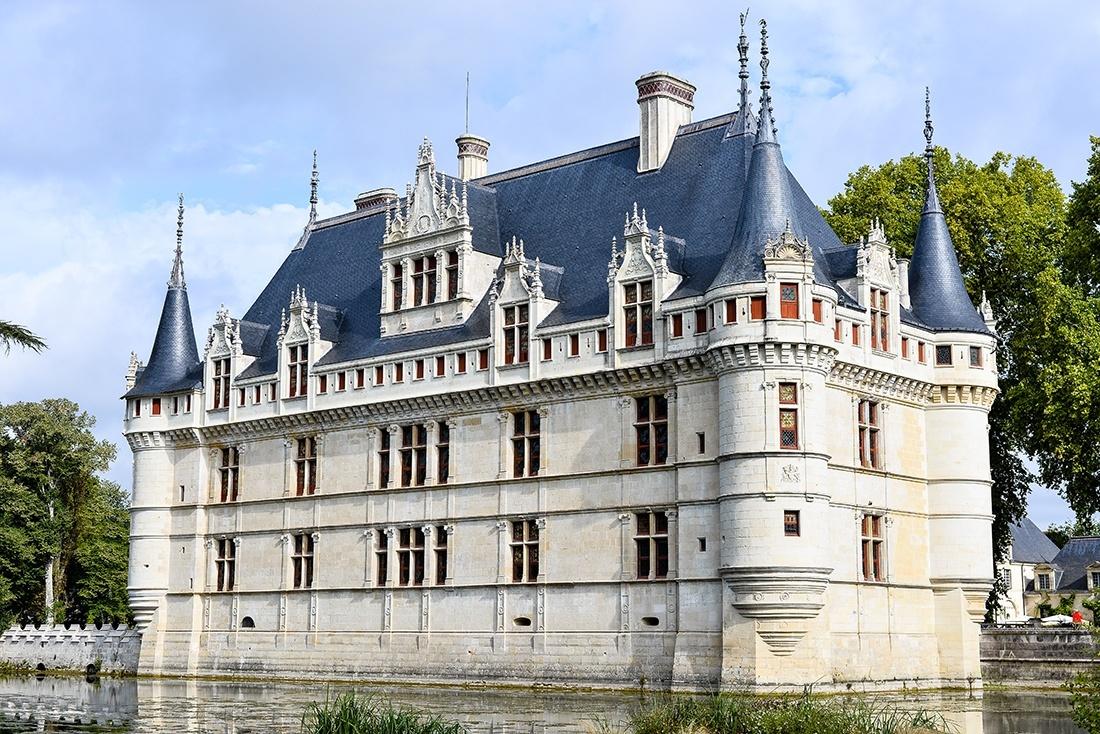 château d'Azay-le-Rideau, châteaux de la loire