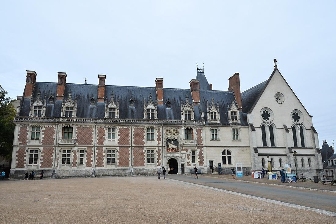 château de blois, châteaux de la Loire