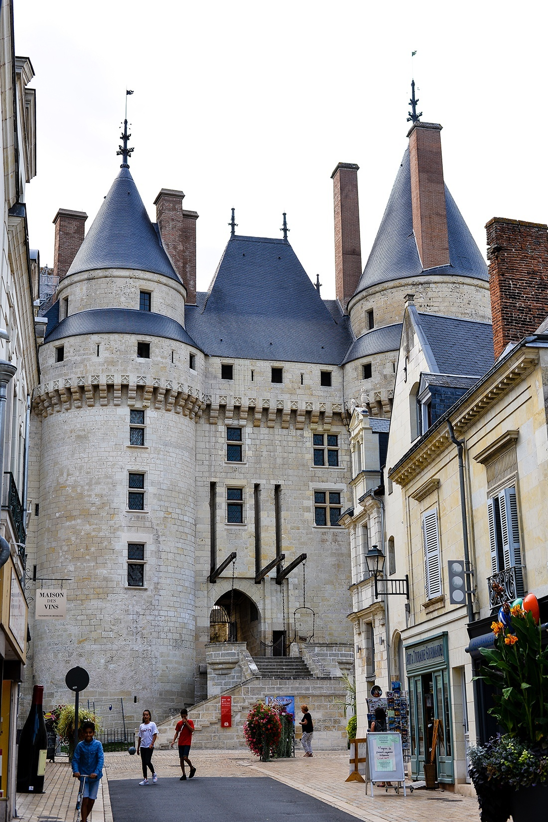 château de langeais, château de la loire en camping-car