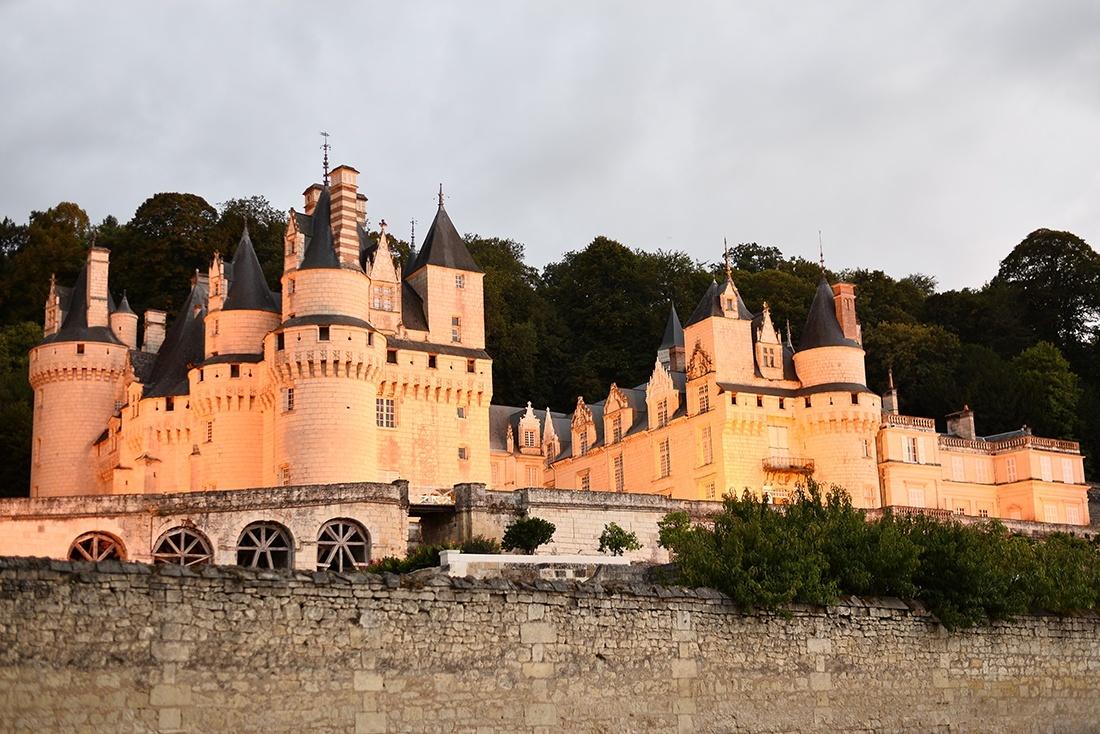 château d'ussé, loire