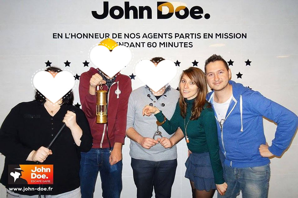 avis john doe, escape game , hauts-de-france