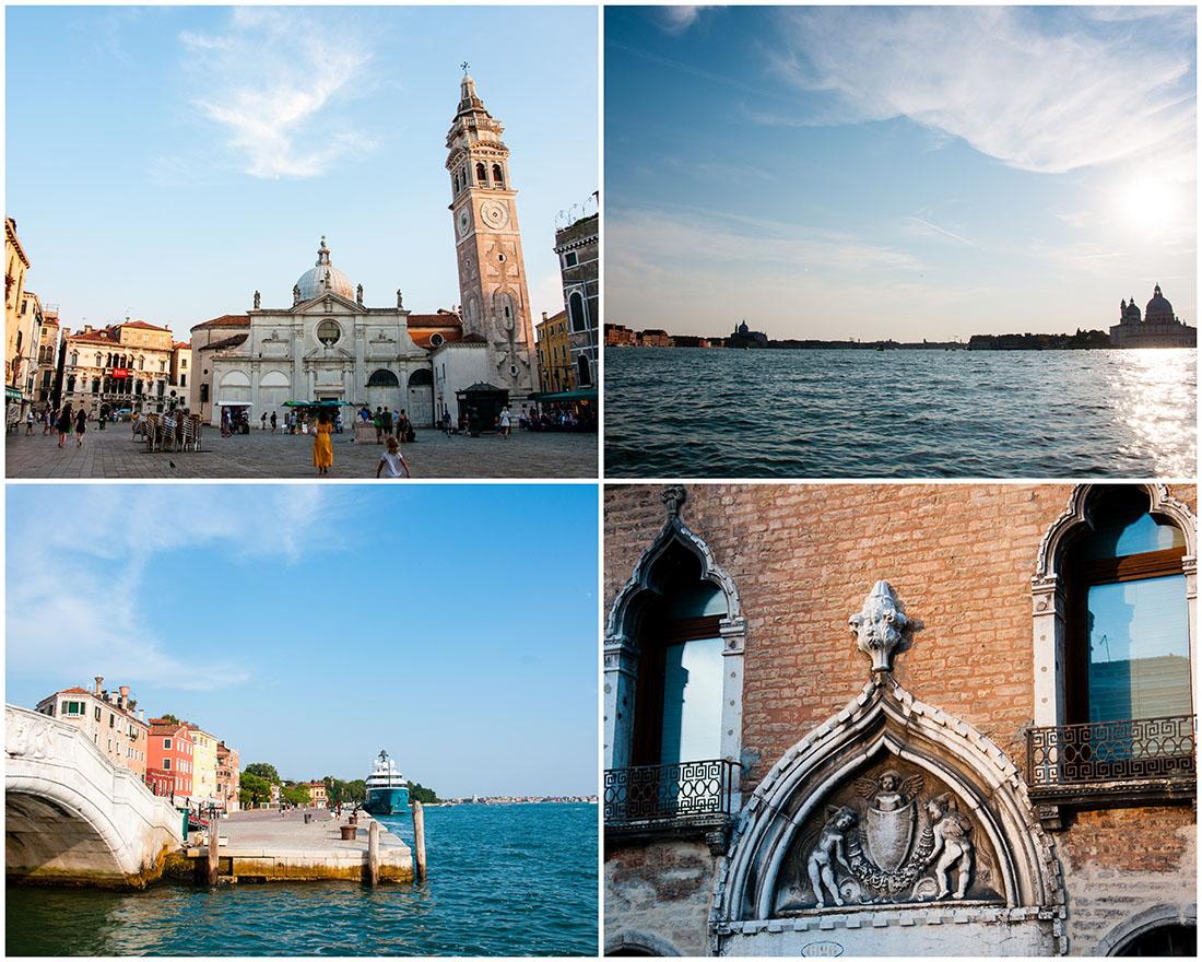 ruelles et canaux de Venise, fin de journée