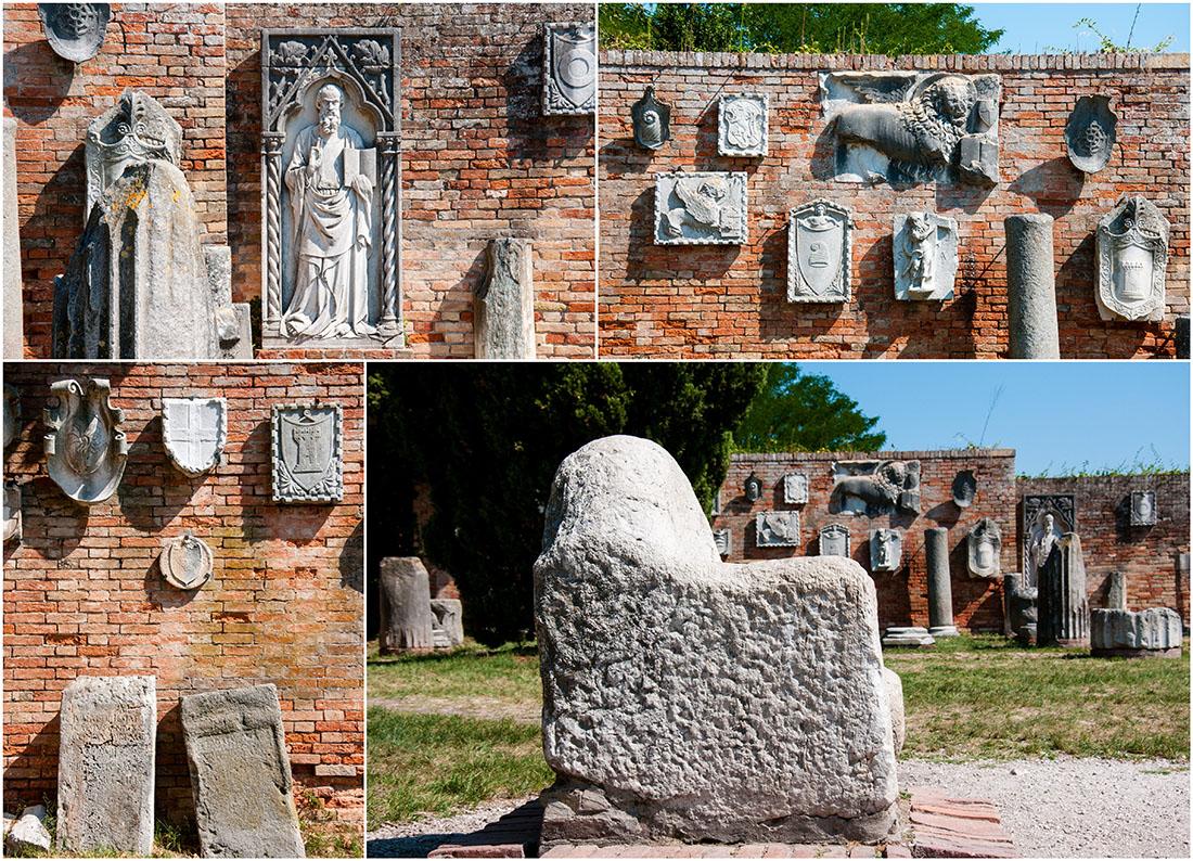 torcello, venise, vestiges archéologiques