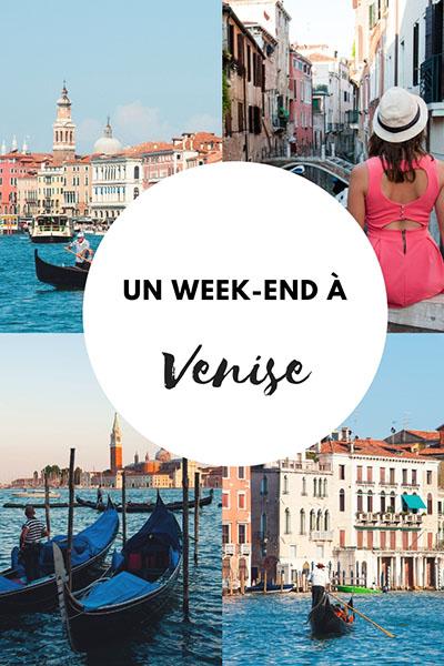 week-end à venise, carnet de voyage