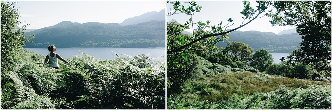 arklet trail, inversnaid, loch lomond