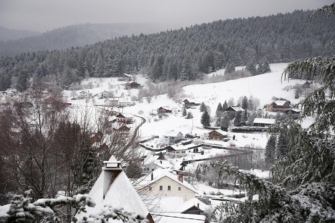 week-end autour de Gérardmer, hiver, neige