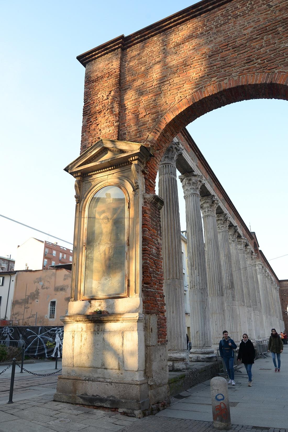Colonnes de San Lorenzo, Milan