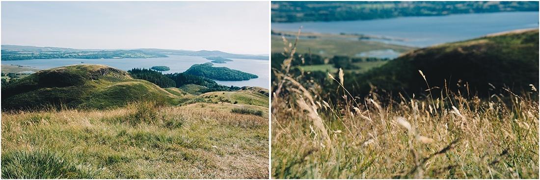 randonnée conic hill, road-trip en Ecosse