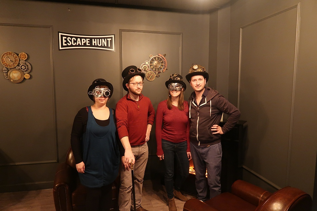 avis escape game Lille, escape hunt, Lyderic