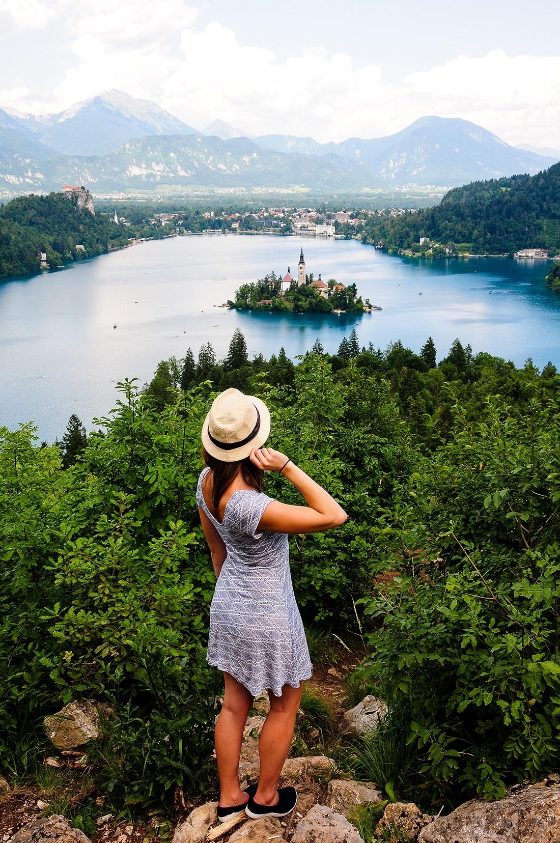 lac de bled, slovenie