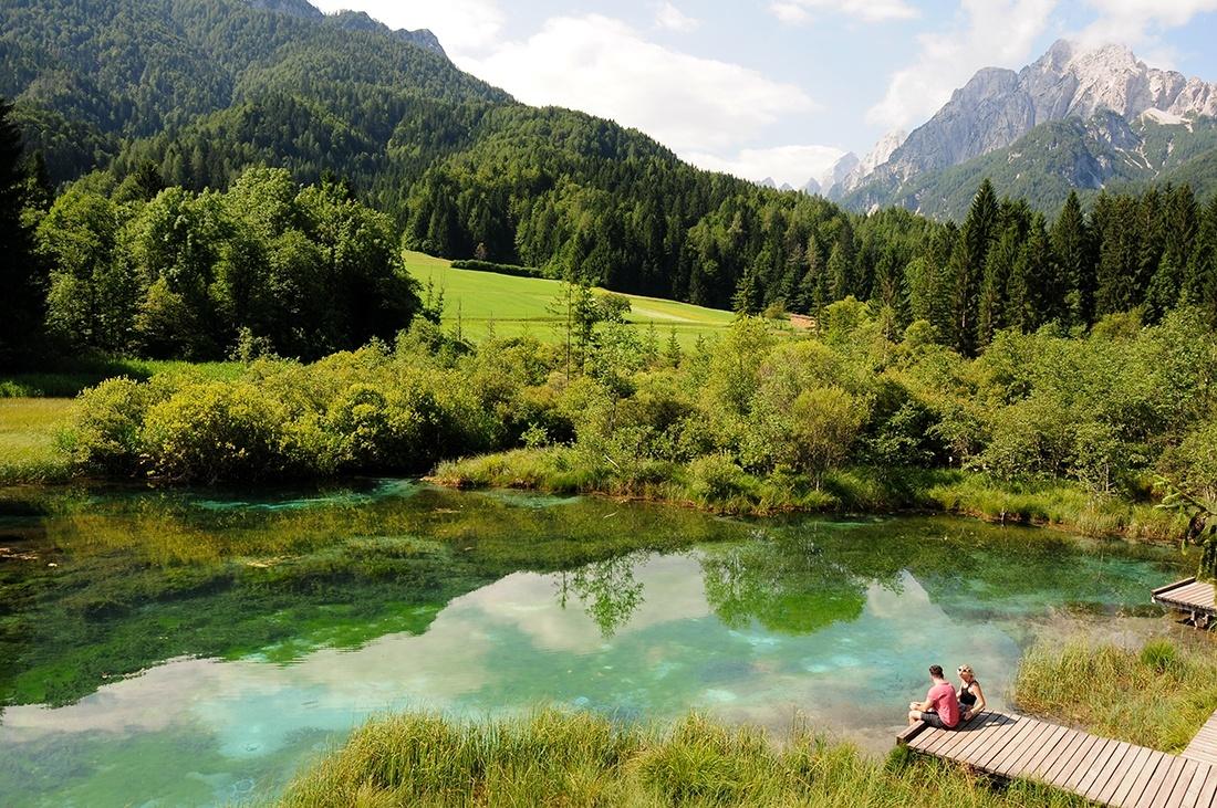 lac de zelenci, choses à faire en slovenie