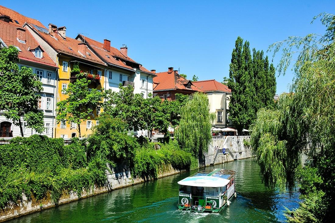 rives ljubljana, slovénie