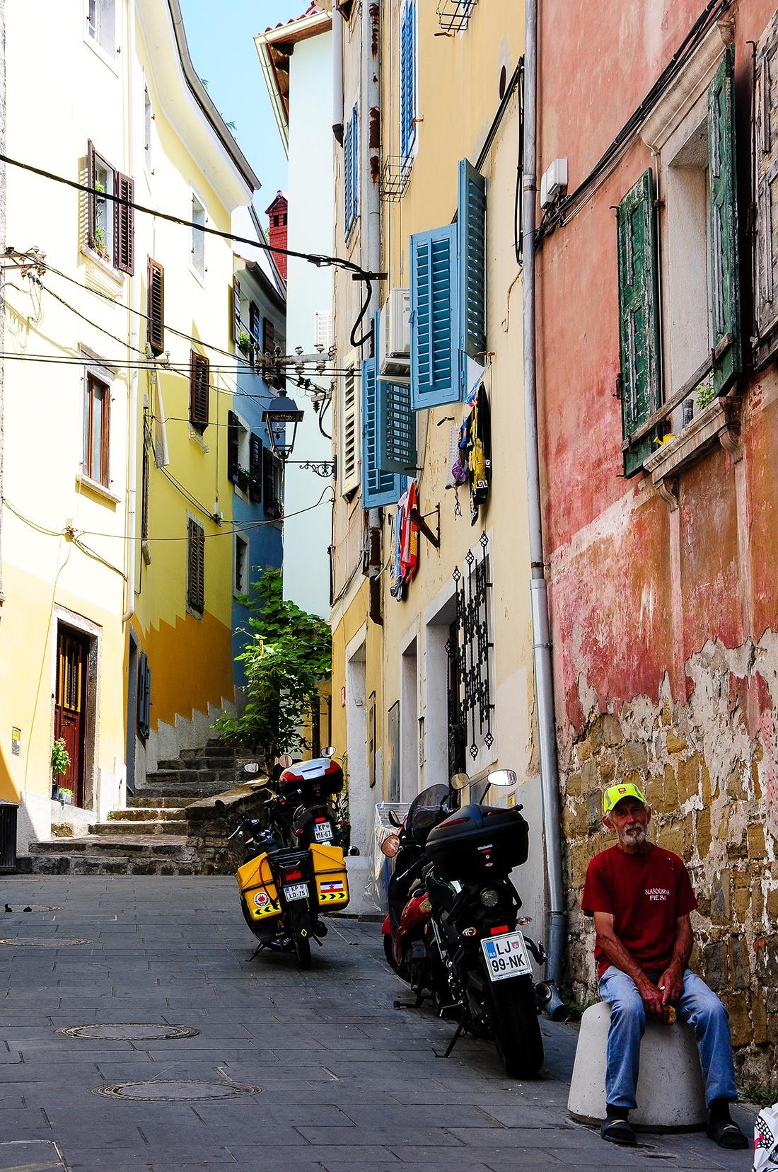 rues piran, que faire en slovenie