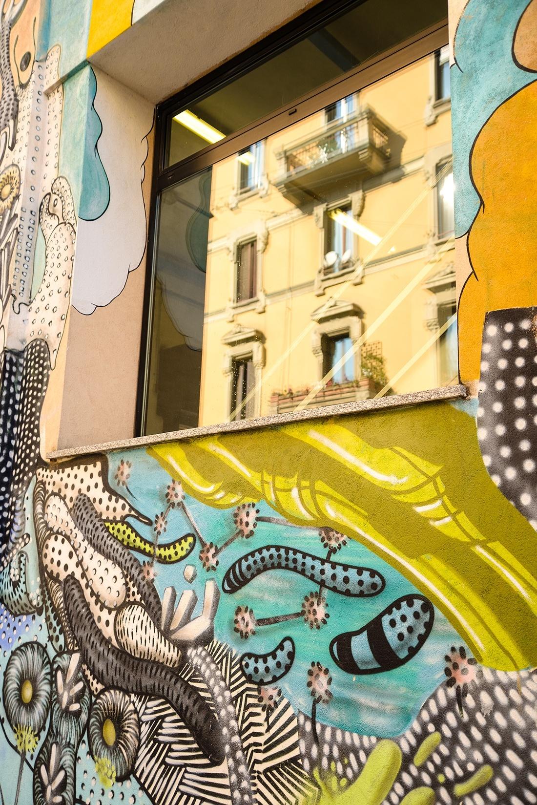 street-art , Isola, via Angelo della Pergola, Milan