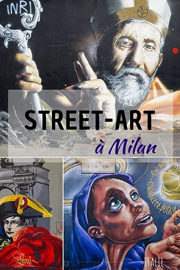 le street-art à Milan, Italie
