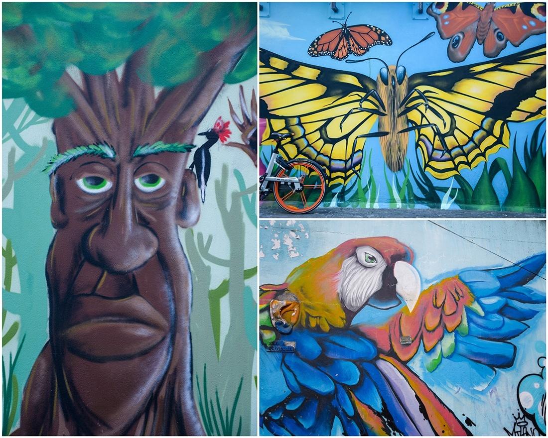 street-art , milan, gare garibaldi, projet Esco Ad Isola