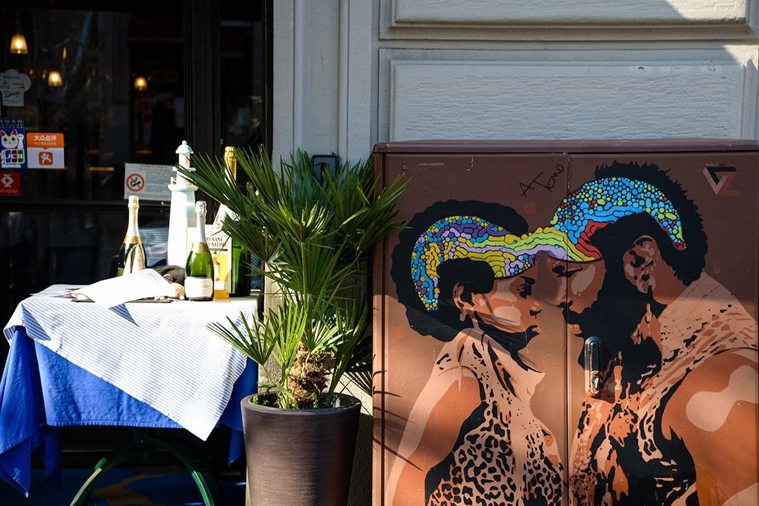street-art milan, isola