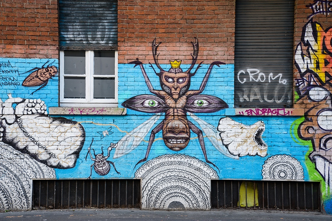 street-art, Milan Navigli