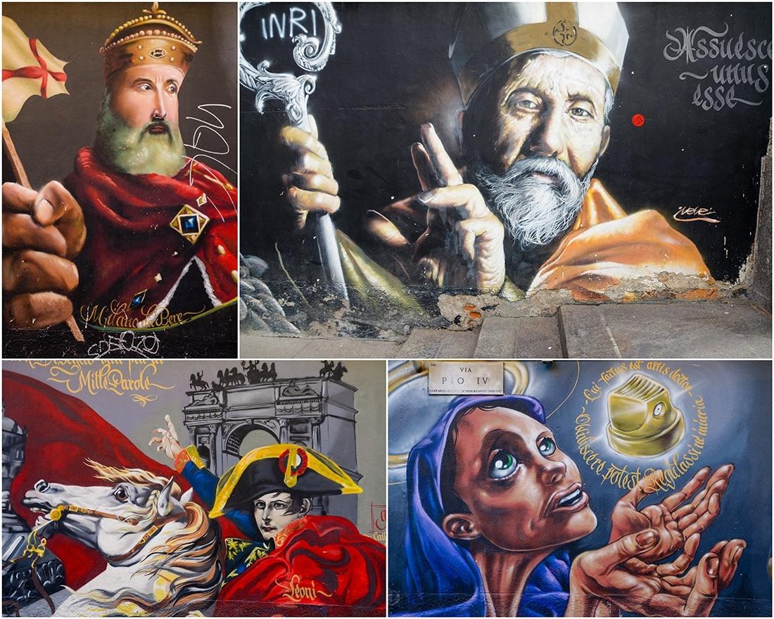 street-art , milan, Via PIO IV