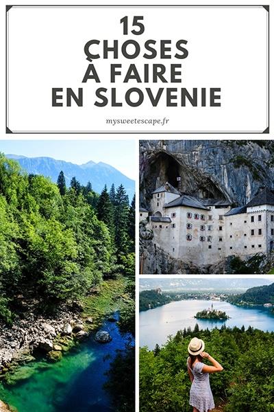 choses à faire en slovénie