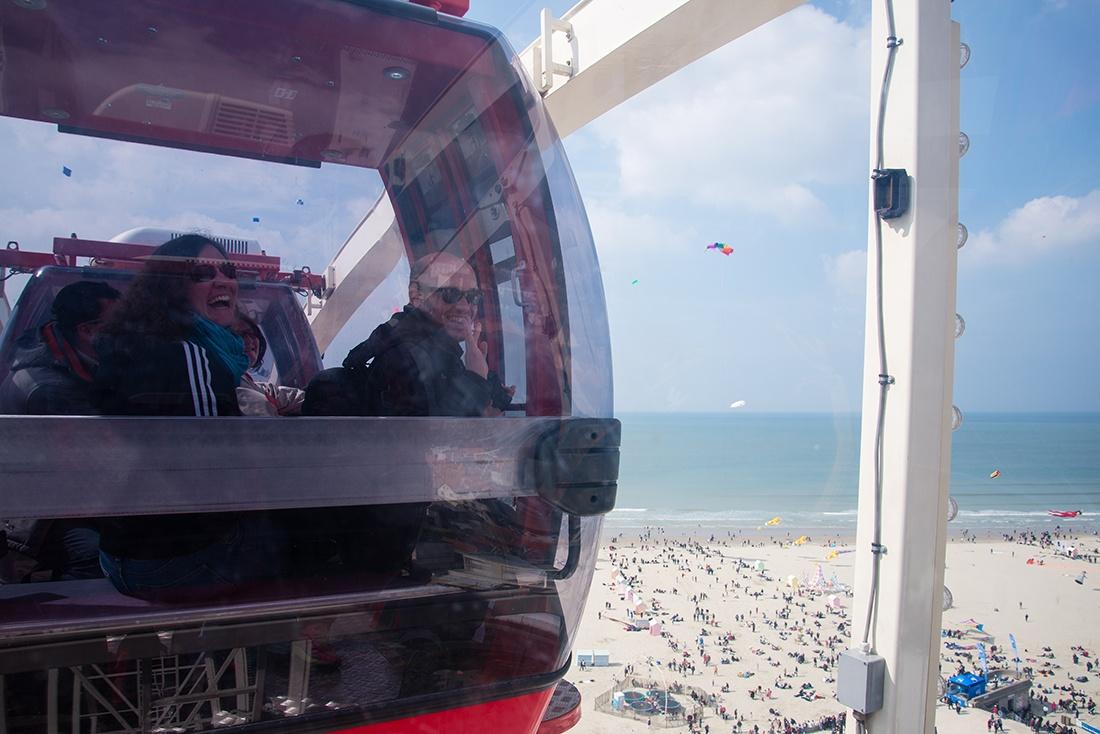 rencontres internationales de cerfs-volants, berck, pas-de-calais, hauts de france, grande roue