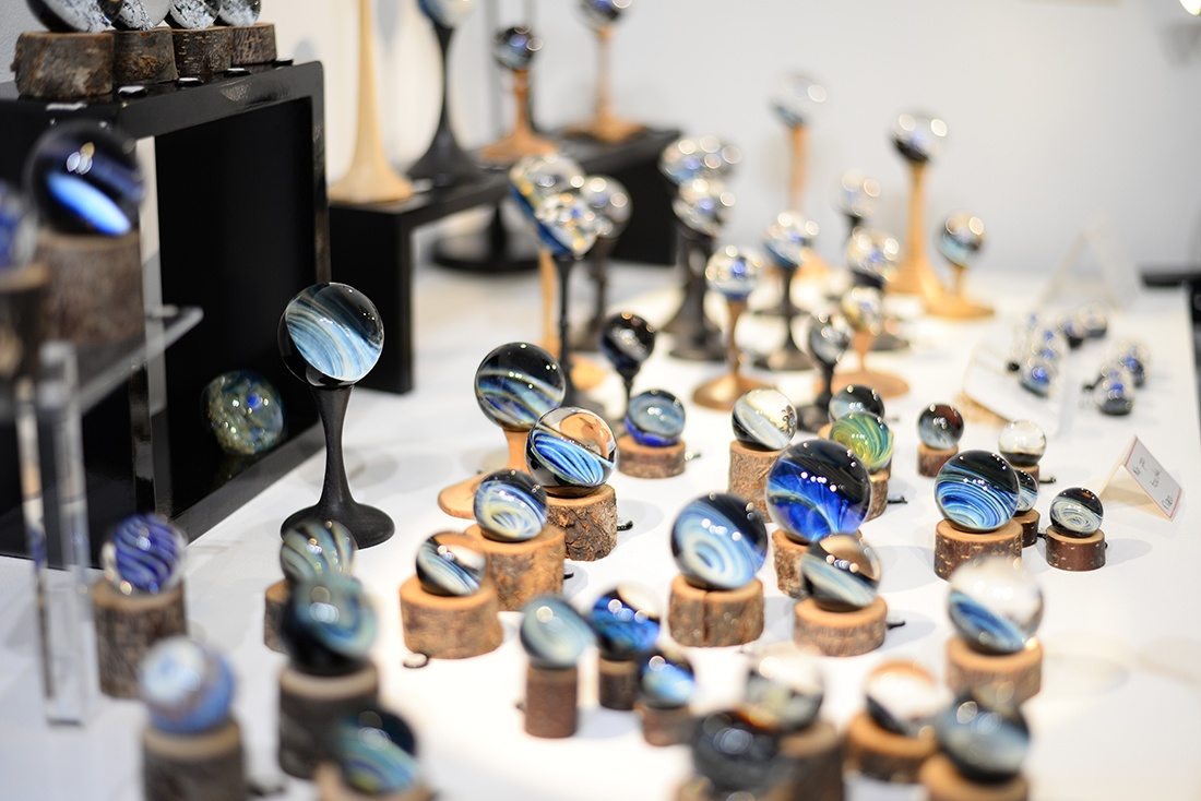 sy'verre, fileurs de verre de murano, pernes-les-fontaines , vaucluse