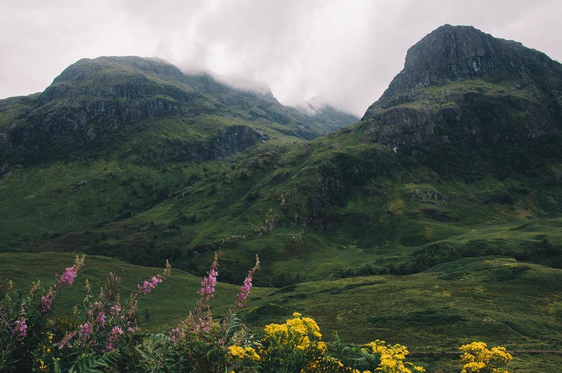 3 sisters, vallée de glencoe, highlands