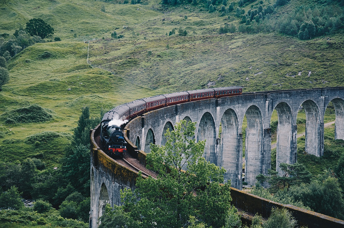 viaduc de Glenfinnan, Harry Potter, vallée de glencoe, highlands, ecosse