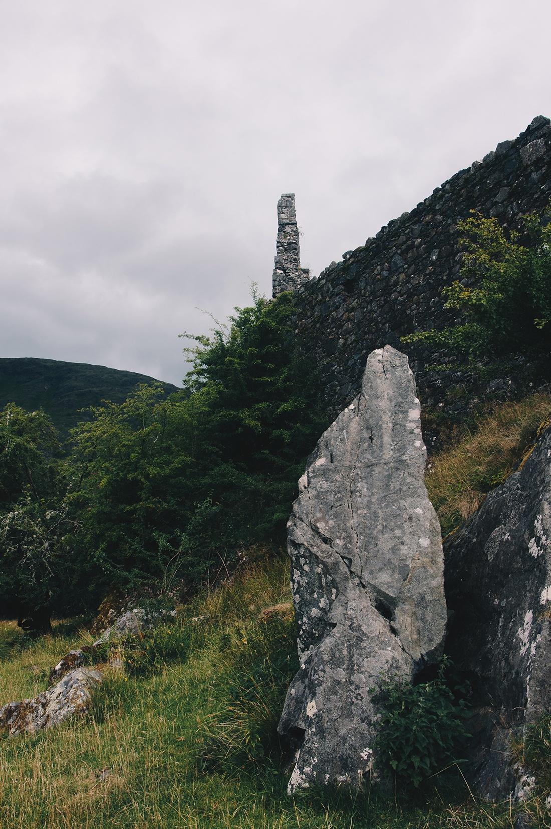 kilchurn castle, vallée de glencoe, road-trip en ecosse