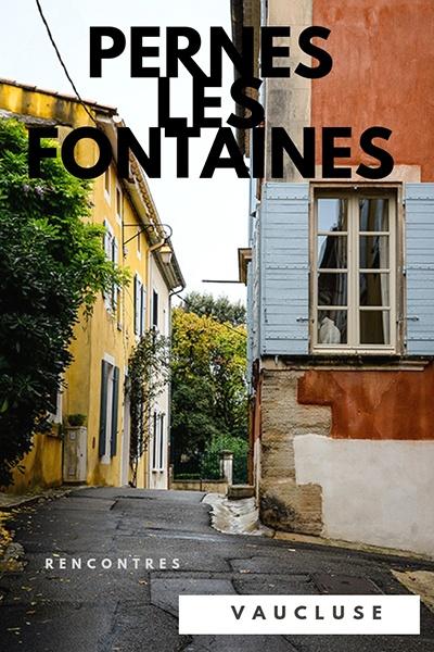 rencontres avec les artisans d'art de Pernes-les-Fontaines dans le Vaucluse