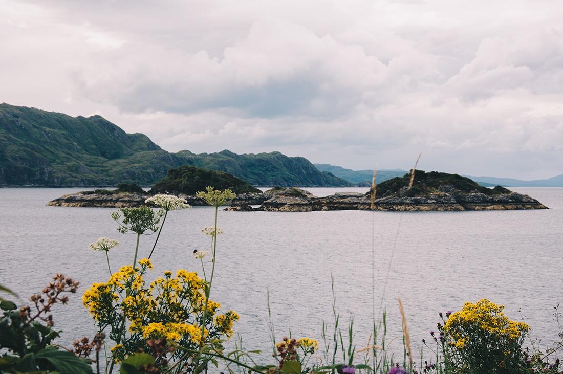 sur la route de Mallaig, vallée de glencoe, highlands, ecosse