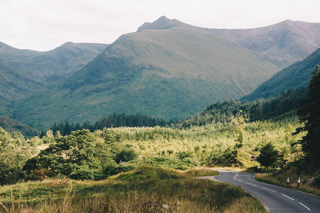 sur la route, road-trip en ecosse