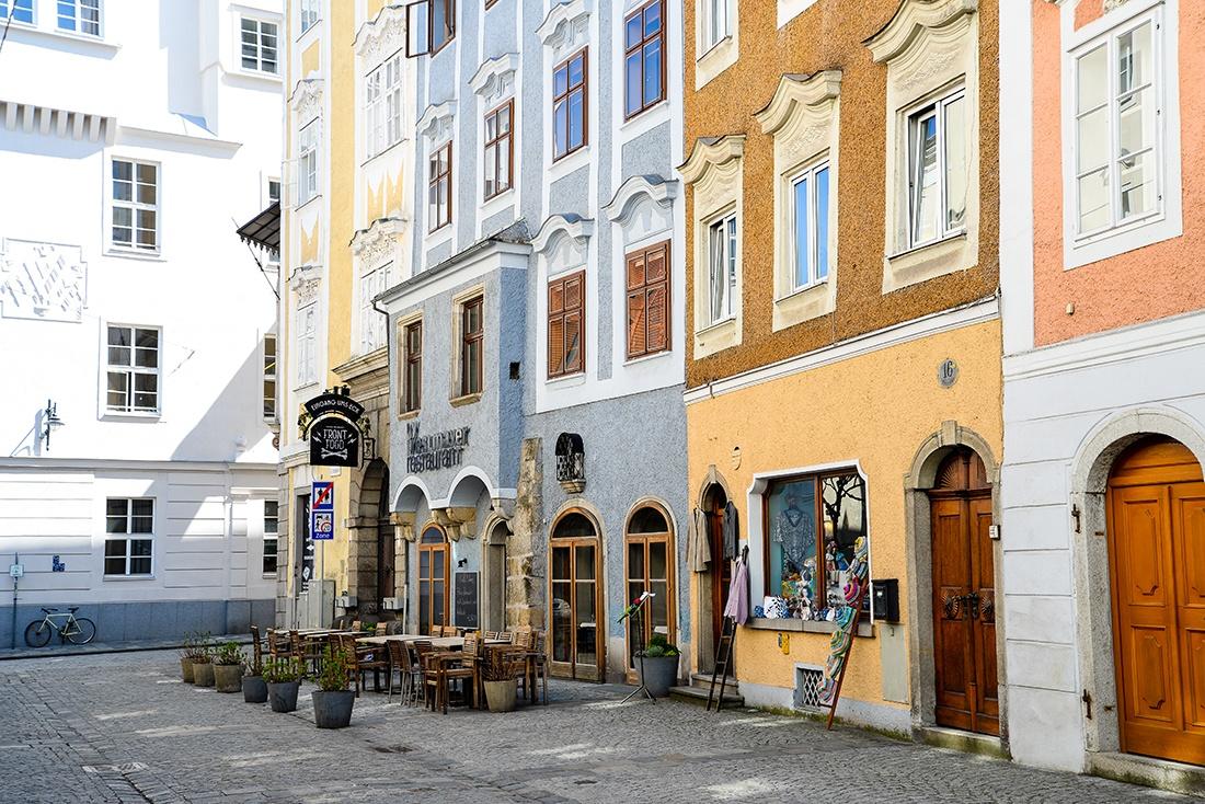 rues de Linz, road-trip en autriche