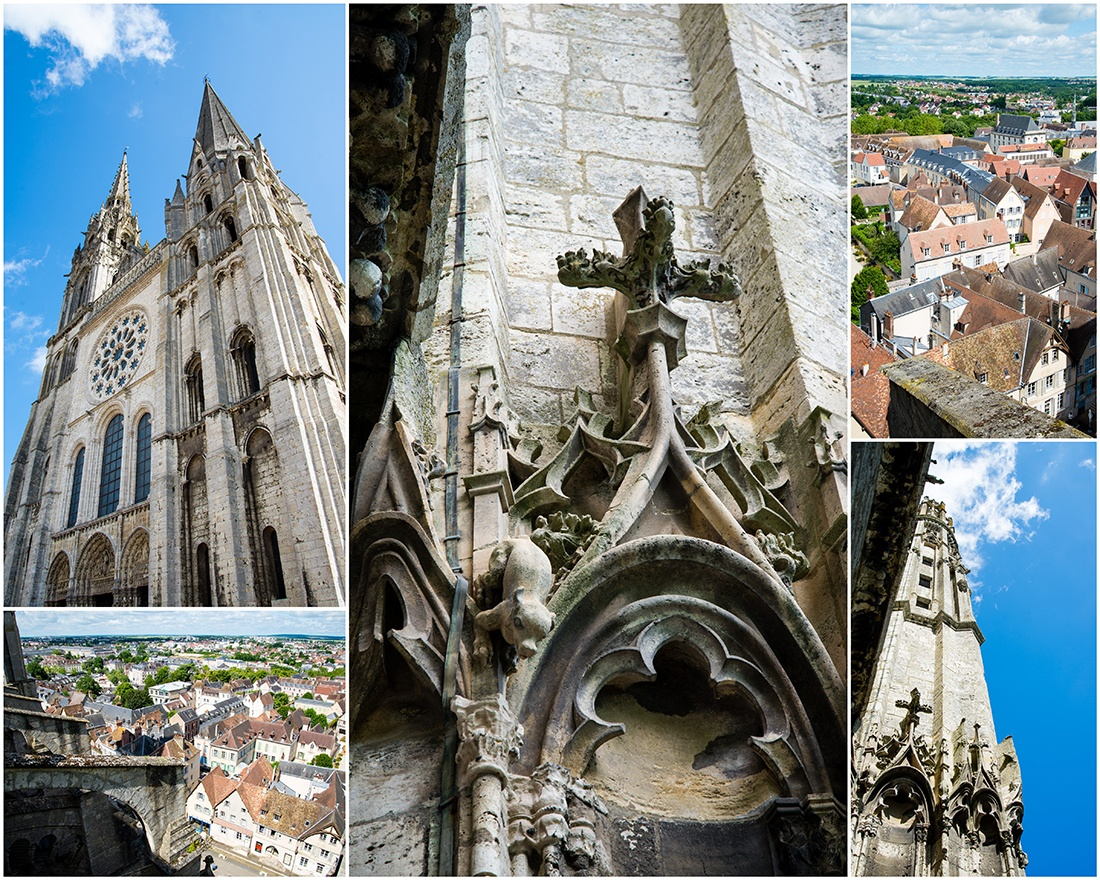 visite des combles de la Cathédrale de Chartres