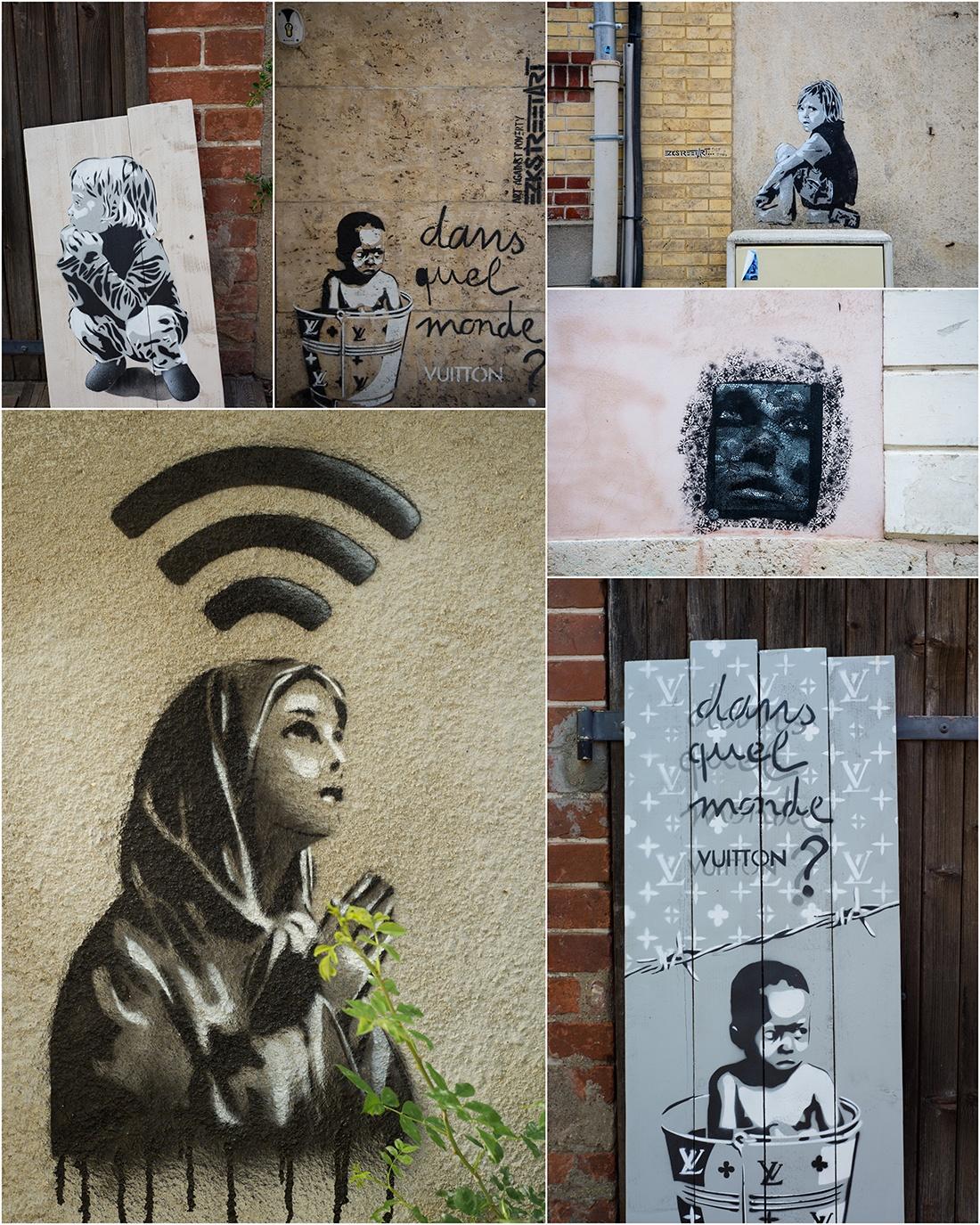 street-art à Chartres, EZK