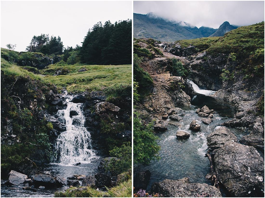 randonnée Fairy Pools, île de Skye