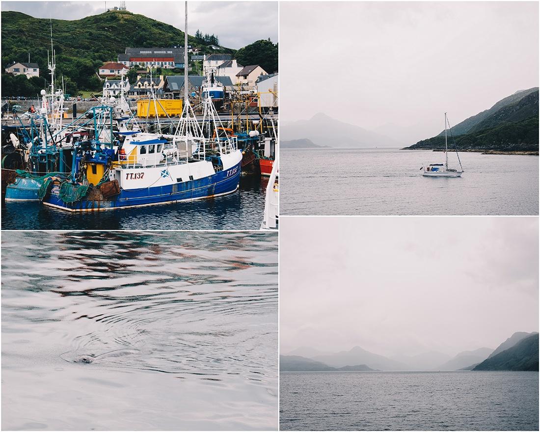 port de Mallaig, vers île de Skye