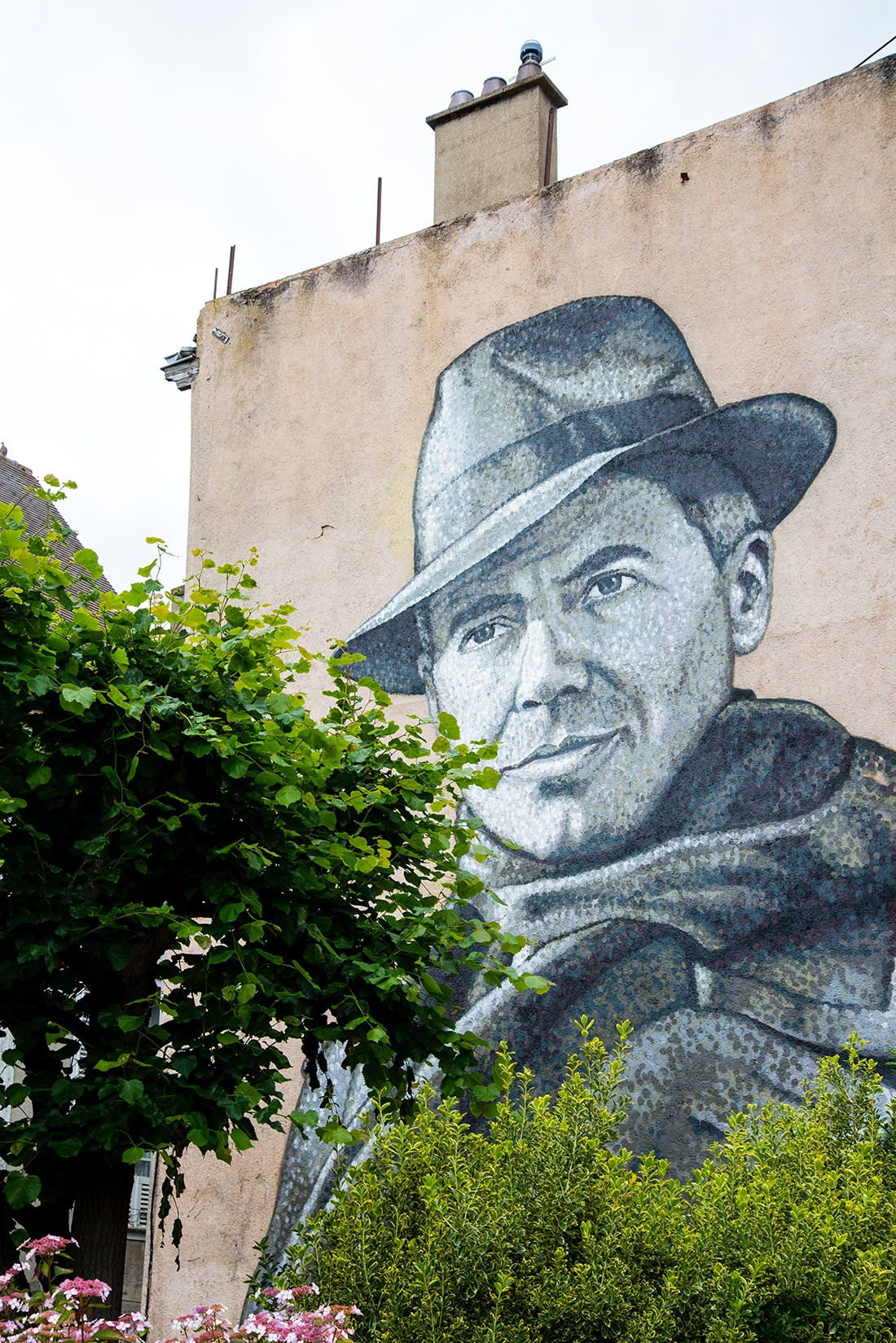 street-art à Chartres, jean moulin, Jimmy C