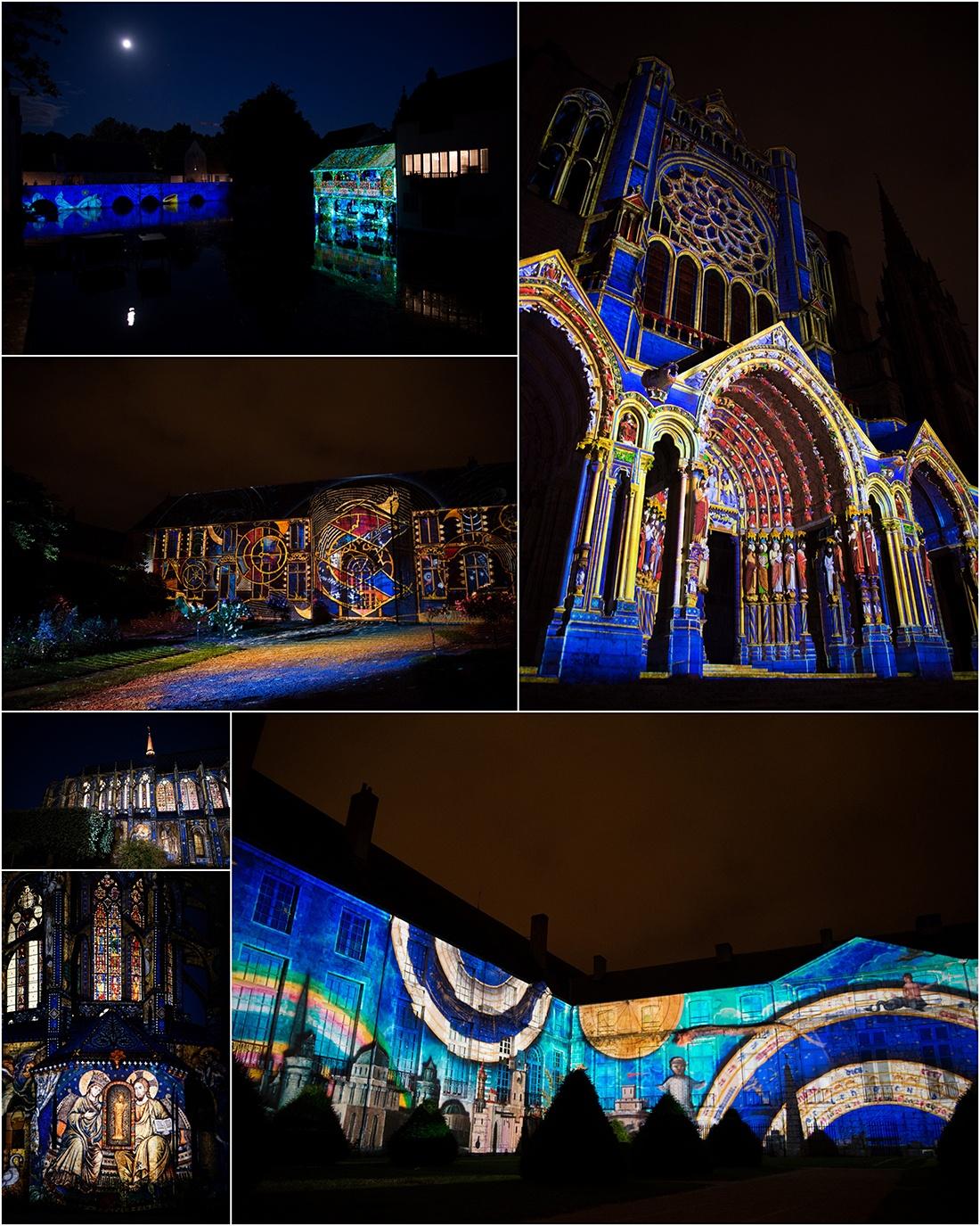 chartres en lumières, cathédrale