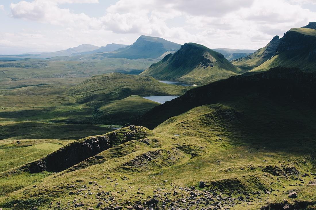 randonnée du Quiraing , île de Skye, Ecosse