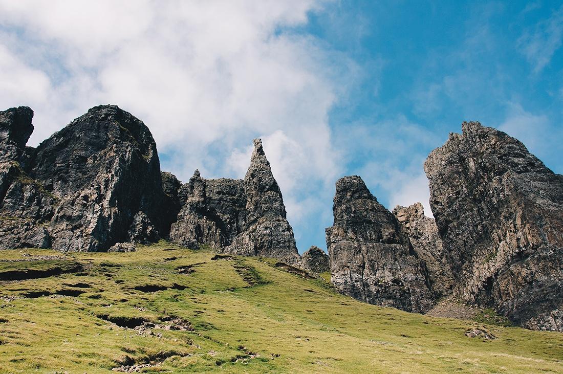 randonnée quiraing, île de Skye