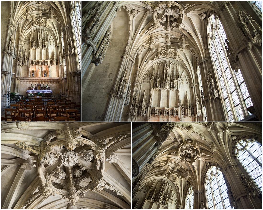 Chapelle flamboyante, Charles de hangest, Noyon